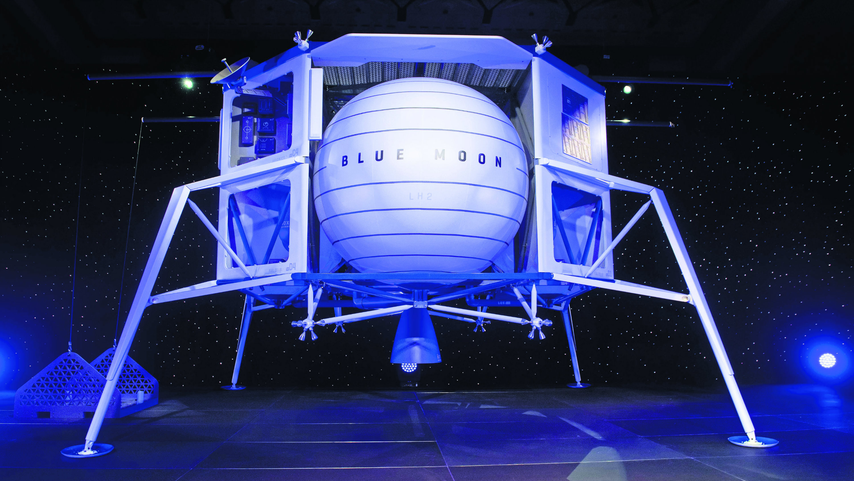 Amazon quiere conquistar la Luna