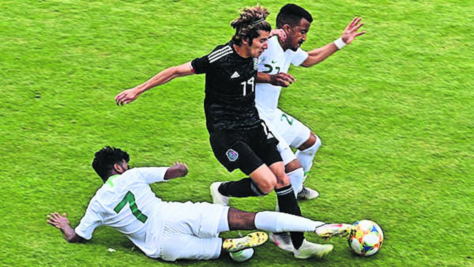 Selección Mexicana Sub-20 Empate Arabia Saudita