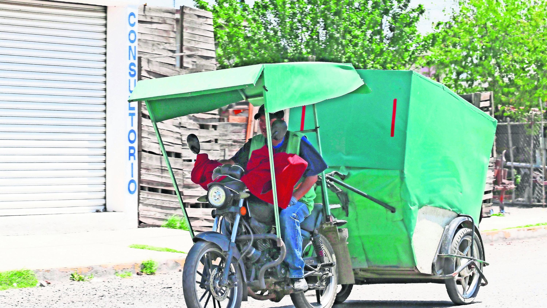 Mototaxistas se sienten inconformes