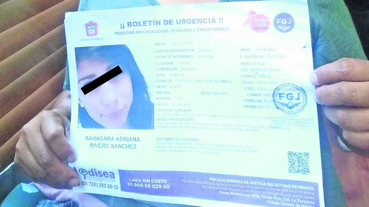 niña menor desaparecida tres años búsqueda mp tardó en alertar boletín alerta ambar