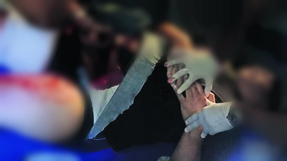 balacera table dance club nocturno lesionado cadenero