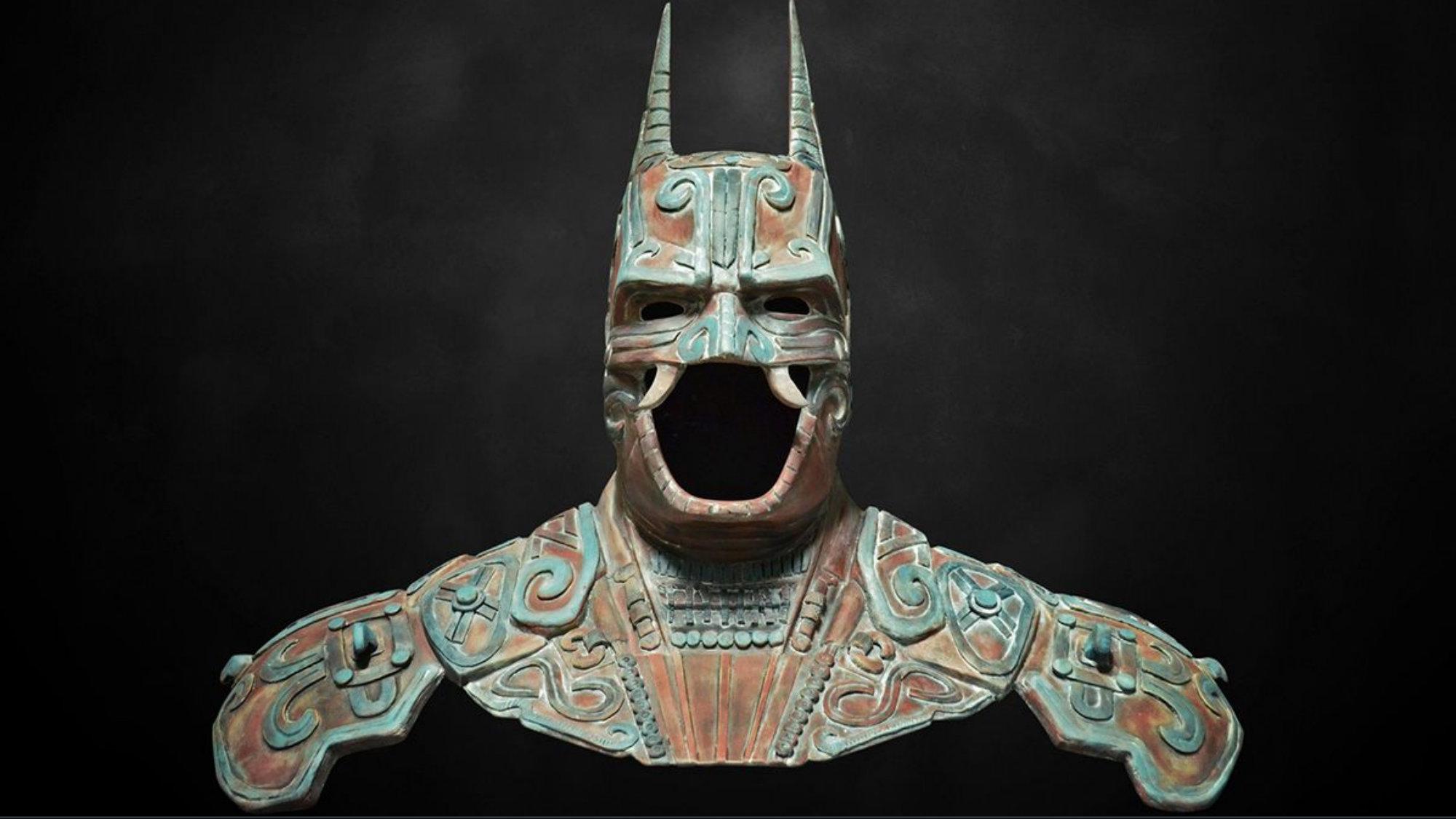 Batman maya Mumedi Batman a través de la creatividad mexicana
