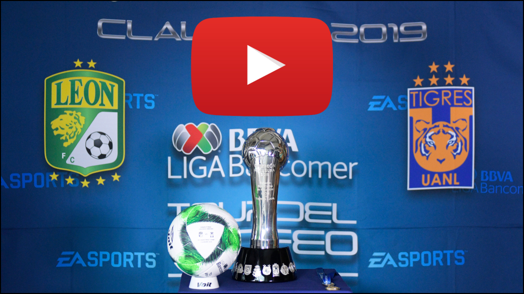La final León vs Tigres será transmitida en Youtube