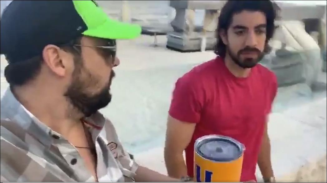 Rodolfo Pizarro es acosado por aficionado de Tigres