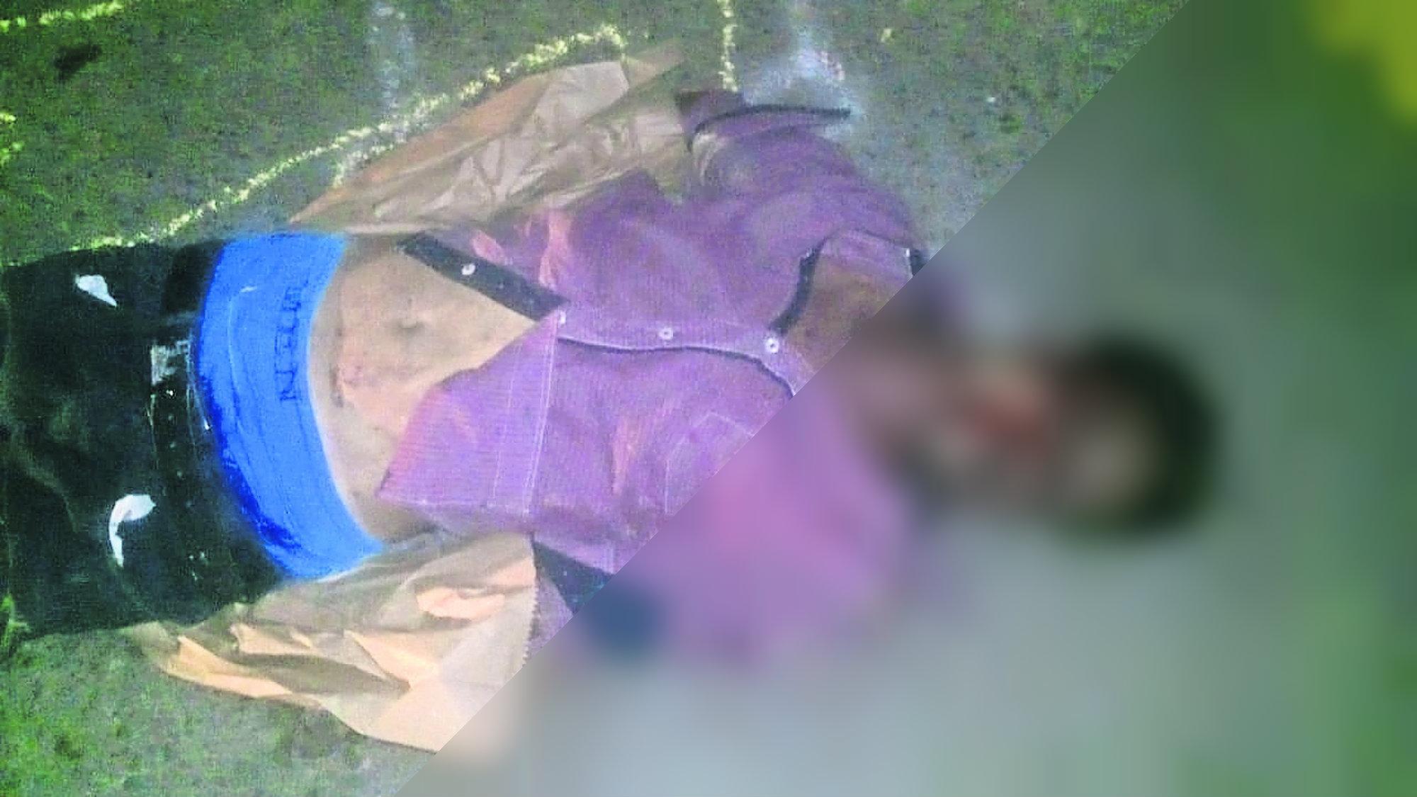Hombre muerto Rostro desfigurado Morelos