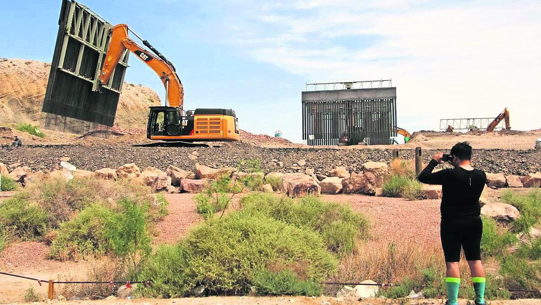 Levantan muro privado Sundland Park
