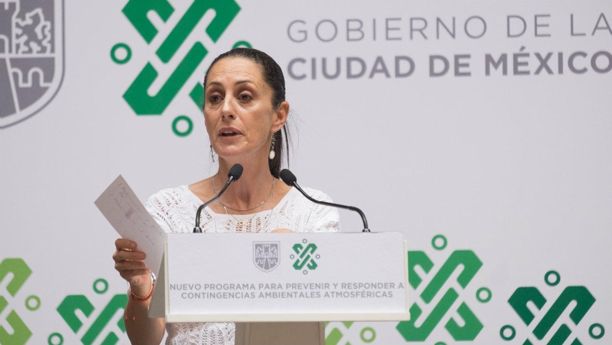 caludia sheinbaum jefa de gobierno pide corregir redacción consulta ciudadana