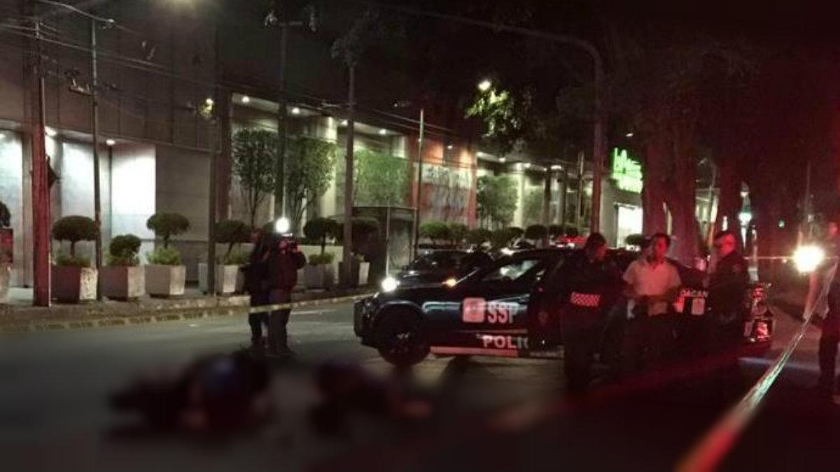 CDMX Motociclista muere arrollado