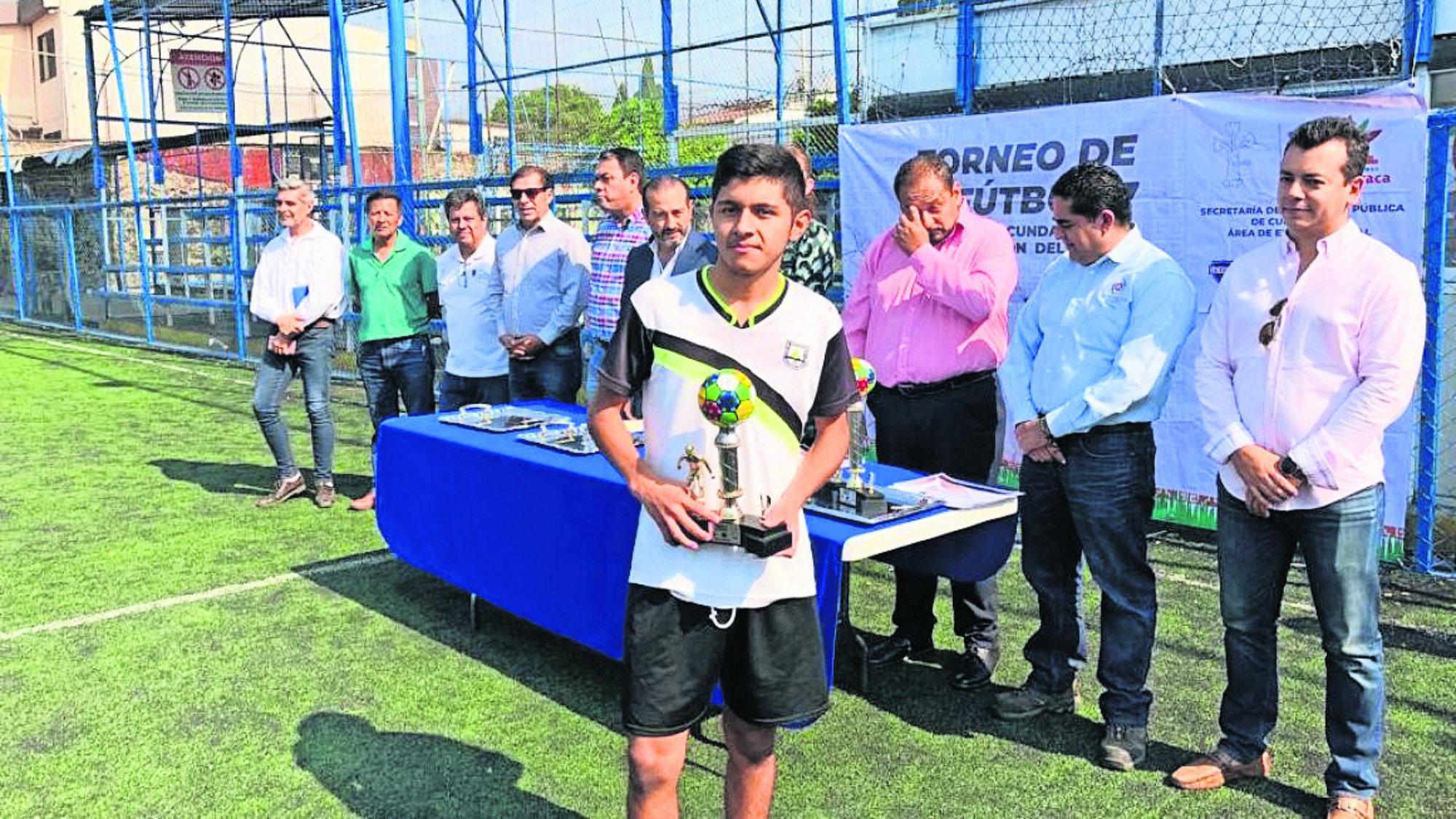 Prevención del delito Torneo de fútbol siete Morelos