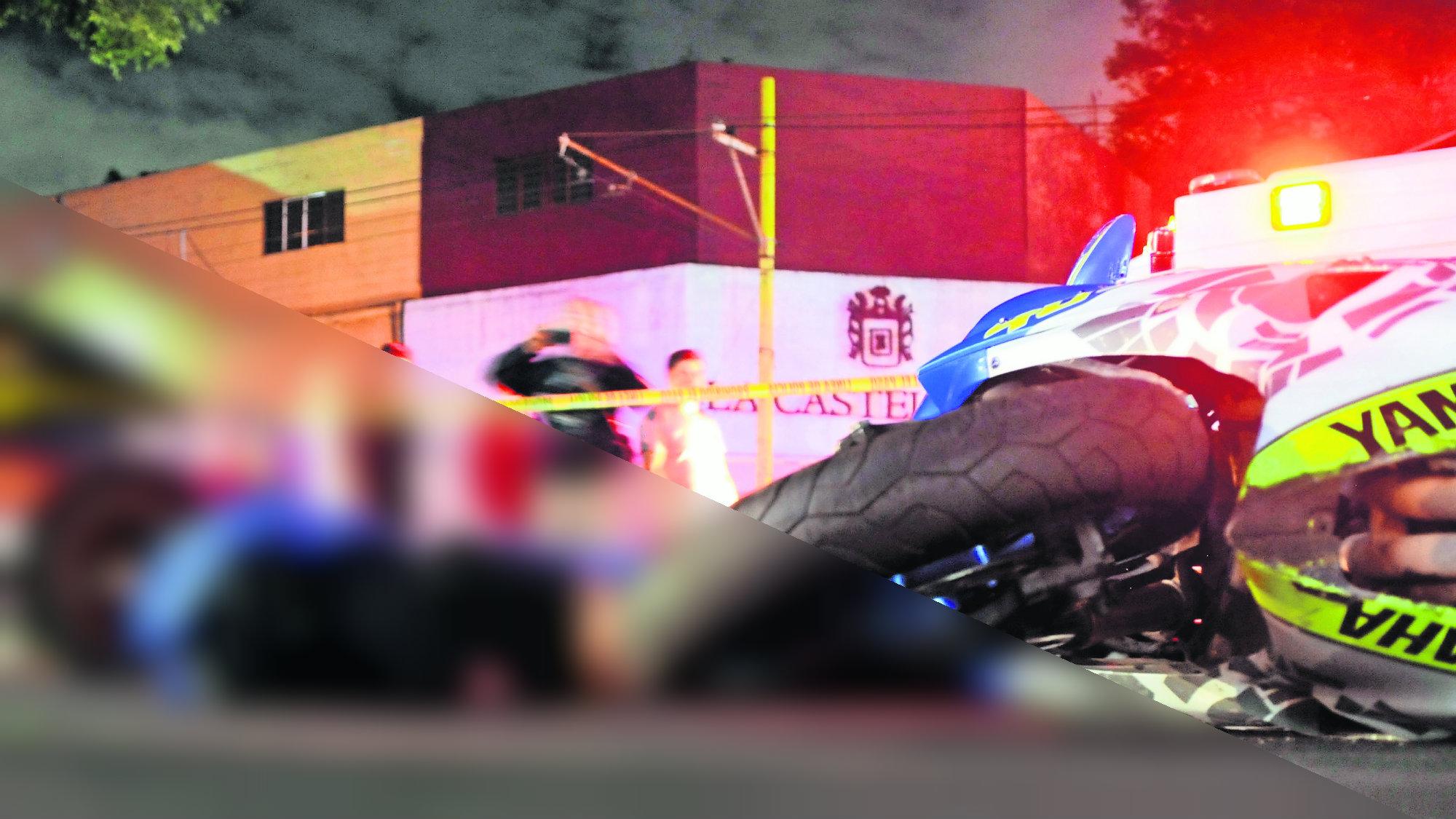 Carrera de microbuseros Motociclista muerto CDMX Coyoacán