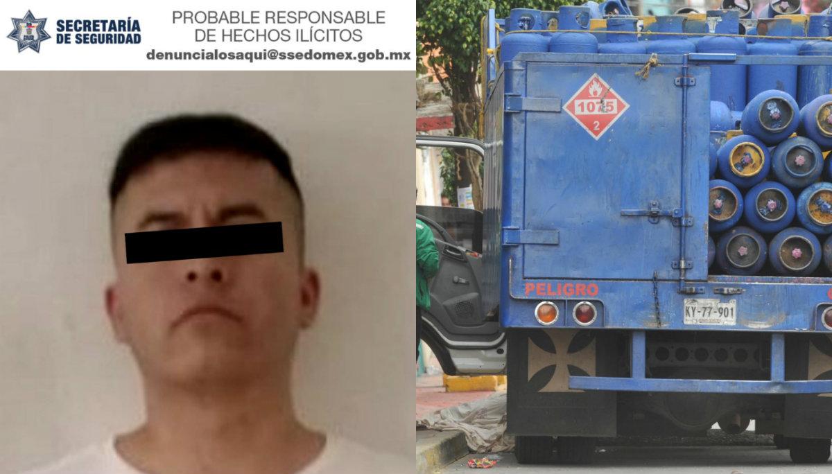 detienen presunto homicida asesino repartidores de gas naucalpan