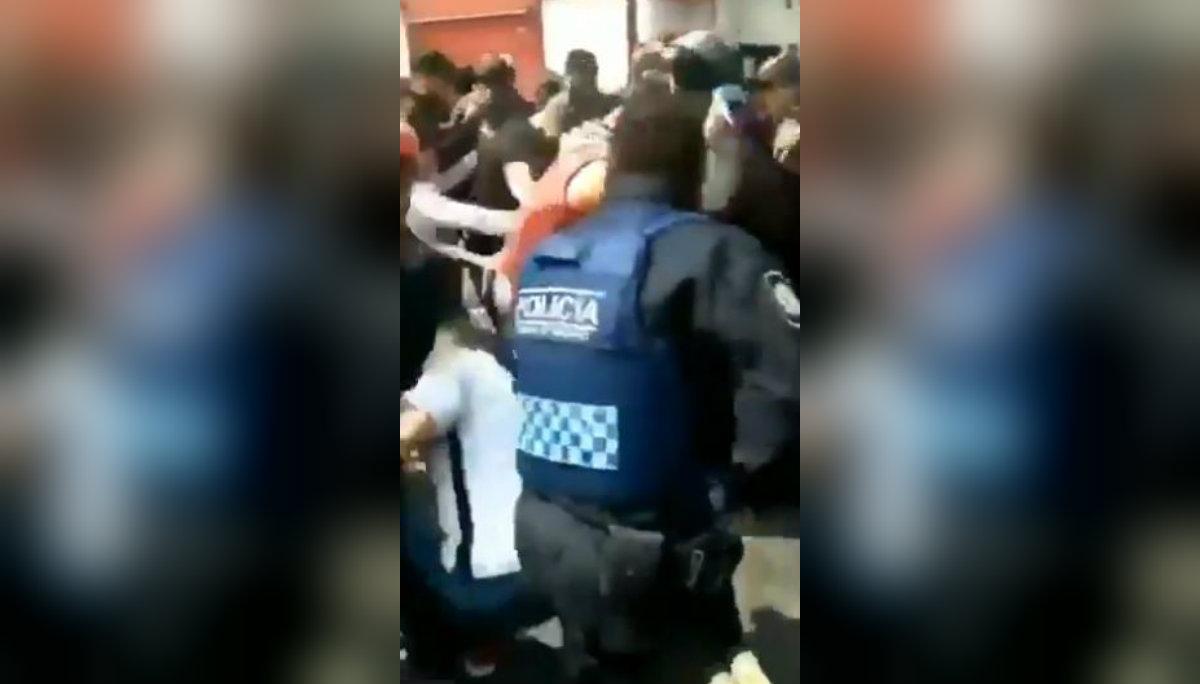 golpiza chofer uber taxistas casi linchan video desmienten manifestación