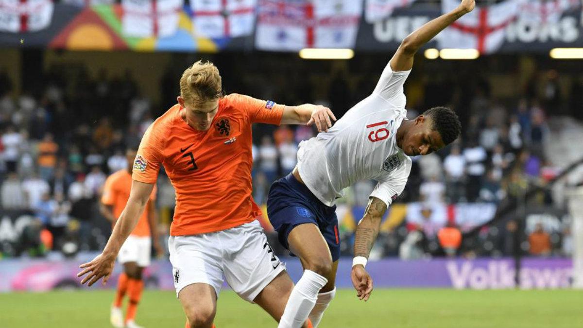 Holanda se impone ante Inglaterra y entra a la Final de la Liga de Naciones