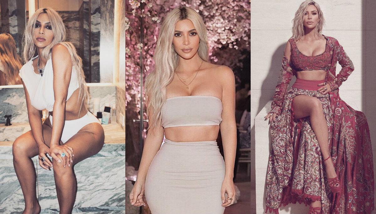 Kim Kardashian aparece en conjunto casi invisible y estremece las redes