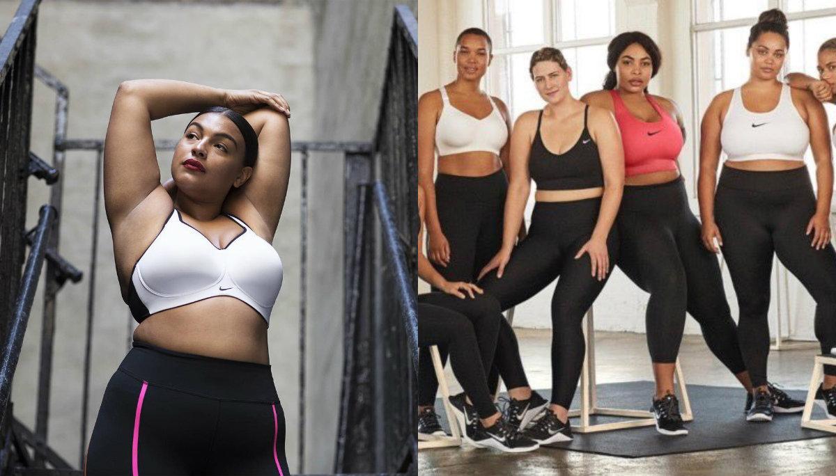Nike se suma al movimiento #BodyPositive y lanza maniquís plus size
