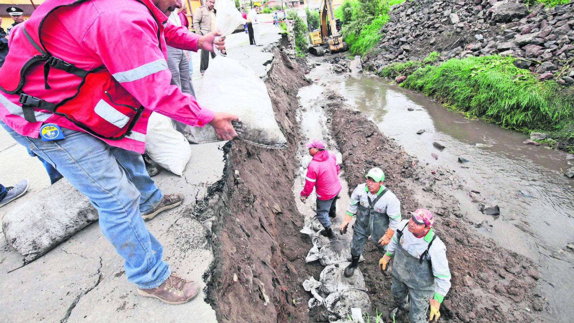 Río Verdiguel Colapso Bomba de timepo Edomex Toluca