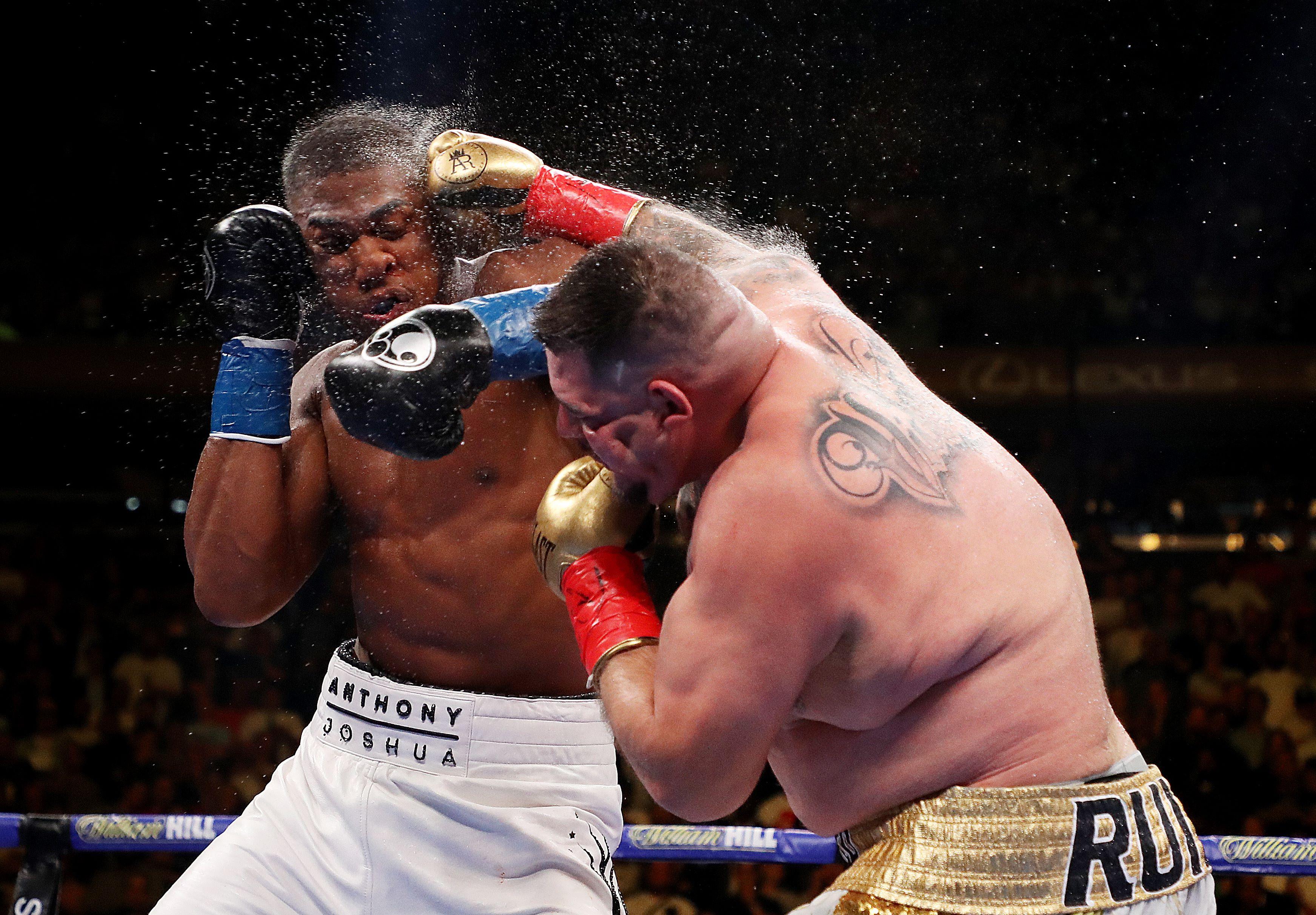 Revancha Joshua vs Andy Ruiz sería en Nueva York