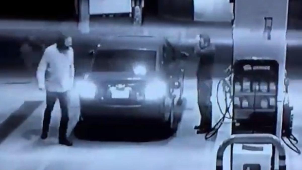 Edomex Despachador gasolina se defiende