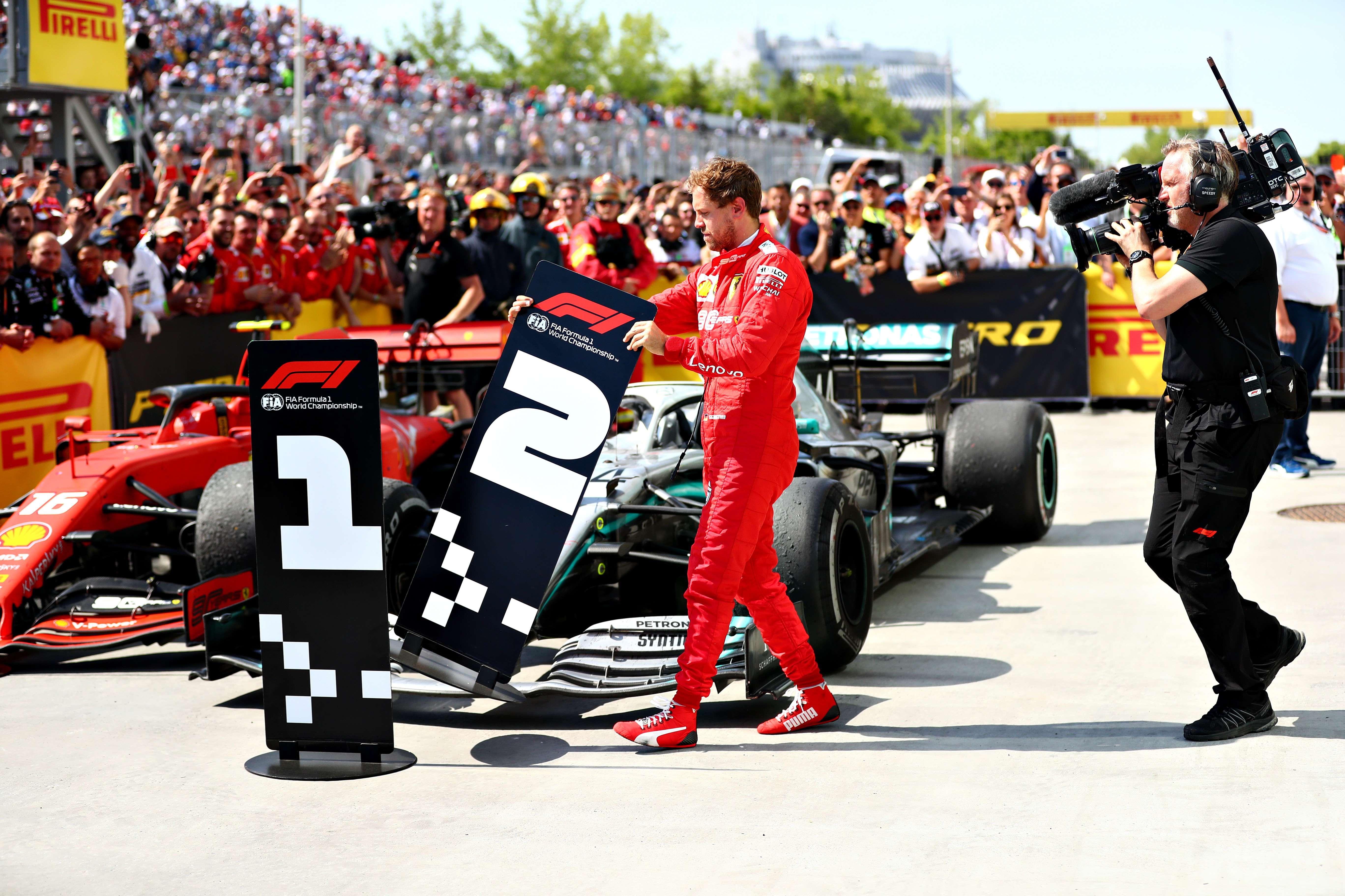 Vettel explotó en el GP de Canadá