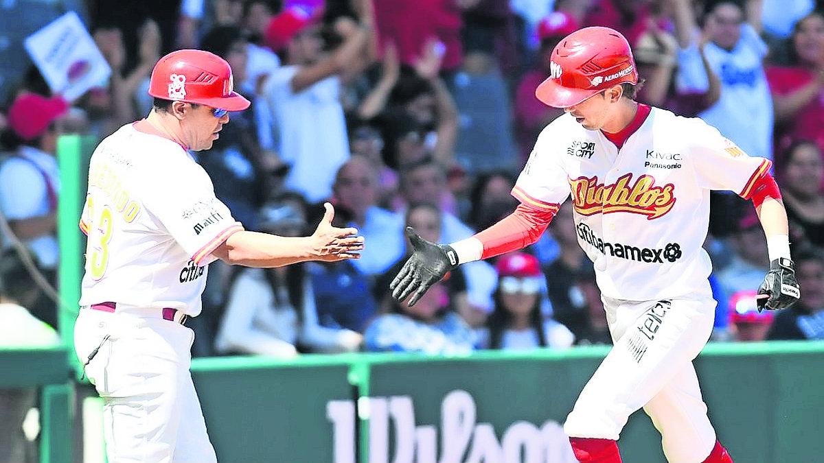 diablos rojos gana serie juego tigres beisbol mexicano