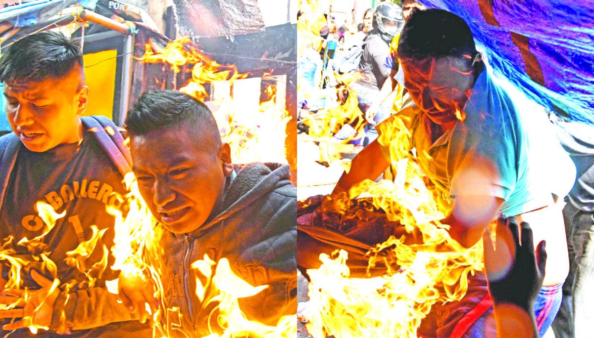 historia detras foto hombre en llamas ganadora