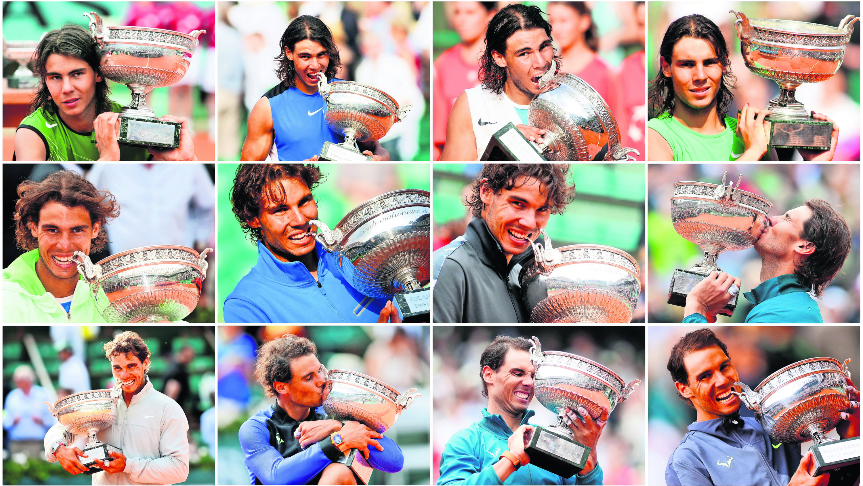 Rafael Nadal logró ganar trofeo