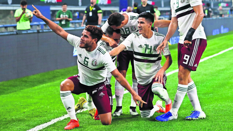 Selección Mexicana cuarta victoria Ecuador