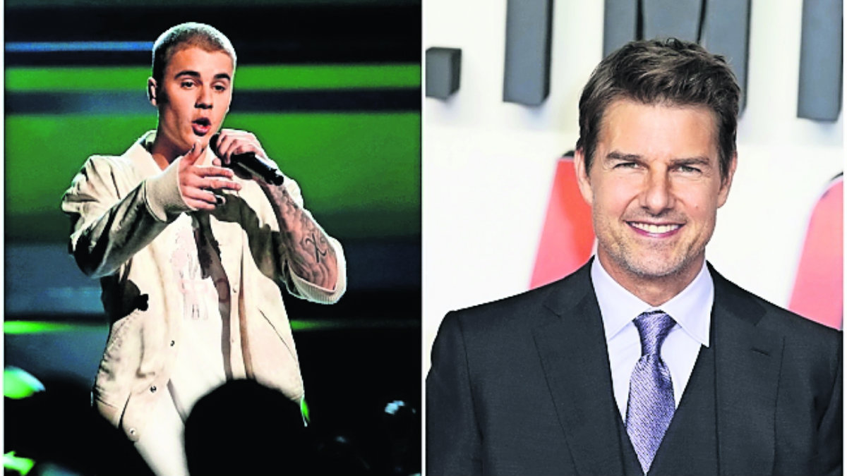 Justin Bieber reta pelea Tom Cruise