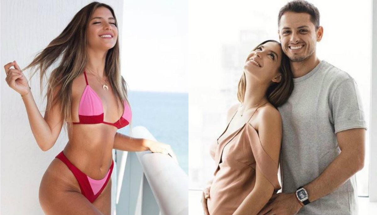 sarah kohan esposa chicharito embarazada fotos desnuda semidesnuda presume panza instagram