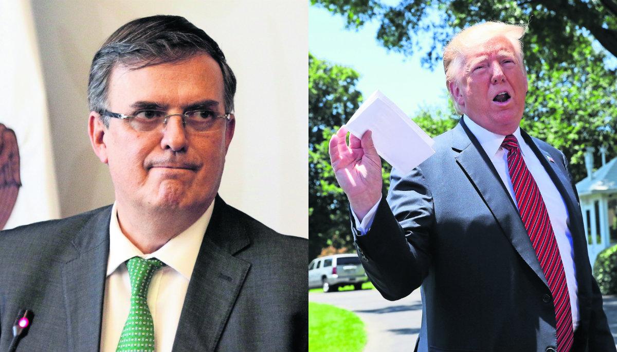 Marcelo Ebrard Donald Trump Trato con Estados Unidos