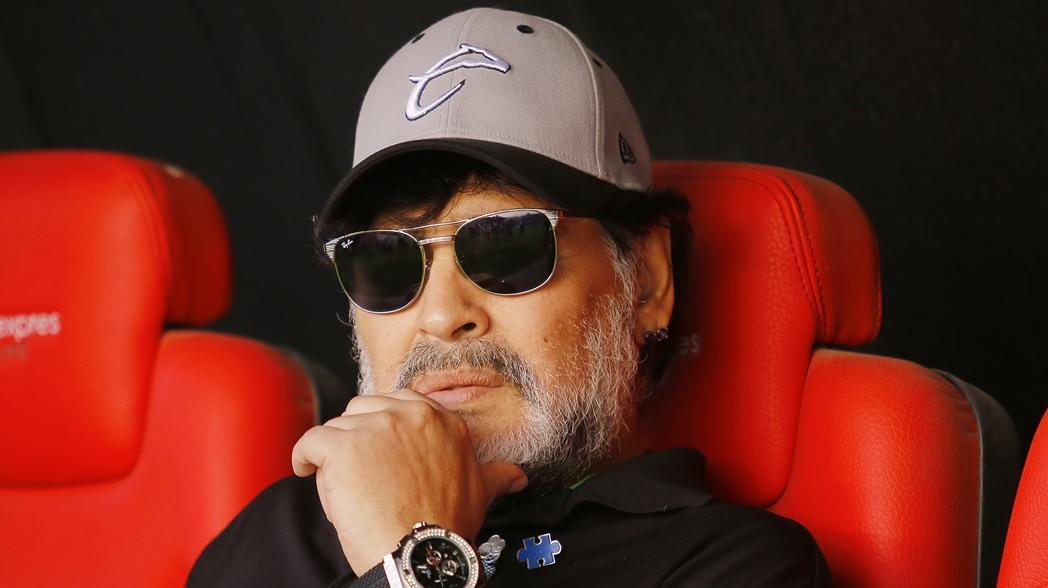 Maradona no seguirá como DT de Dorados