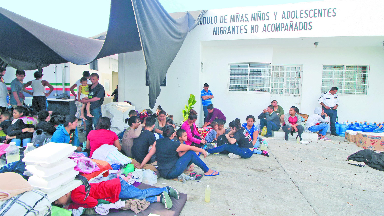 Estaciones Migratorias sureste mexicano