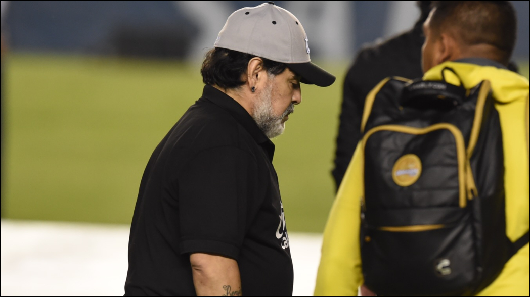 Con emotiva carta, Maradona se despide de los Dorados