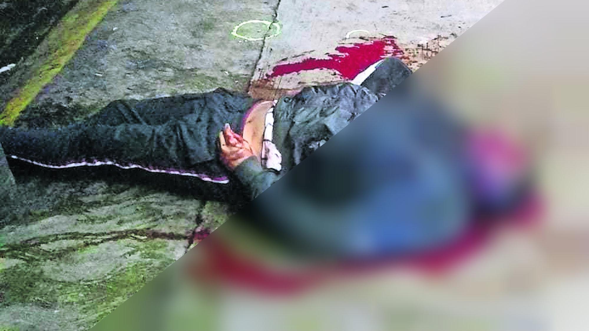 Hombre ejecutado Rostro plomeado Nezahualcóyotl
