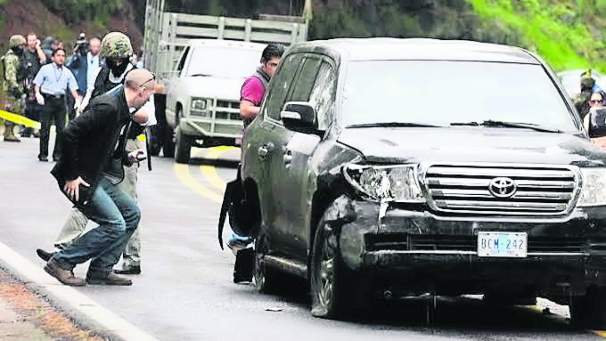 sentencian policías ataque camioneta diplomática CIA siete años huitzilac morelos
