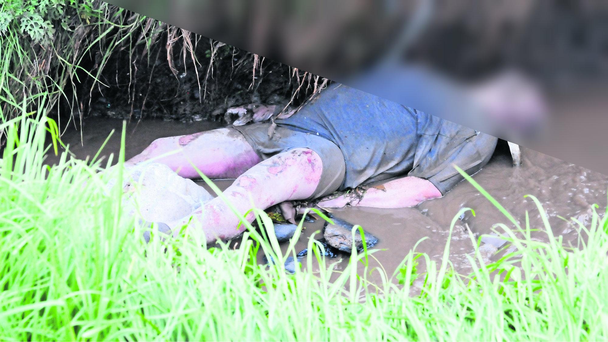 Hallan cadáver Sin identificar Canal Aguas residuales Edomex Toluca