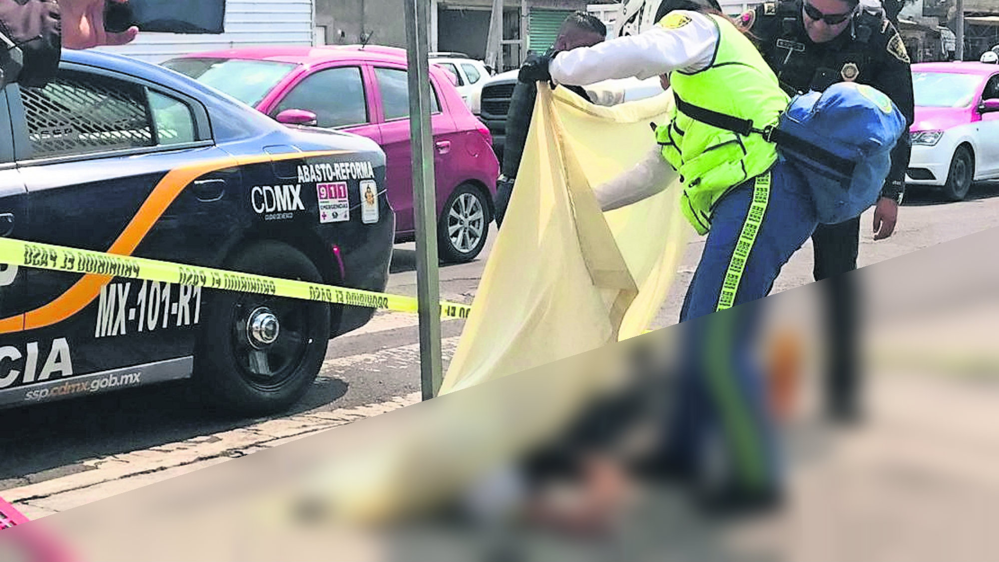 Motociclista muerto Proyectado Exceso de velocidad CDMX Iztapalapa