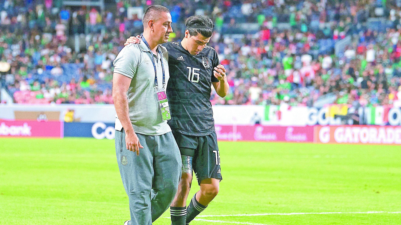 No paran lesionarse jugadores Selección Mexicana