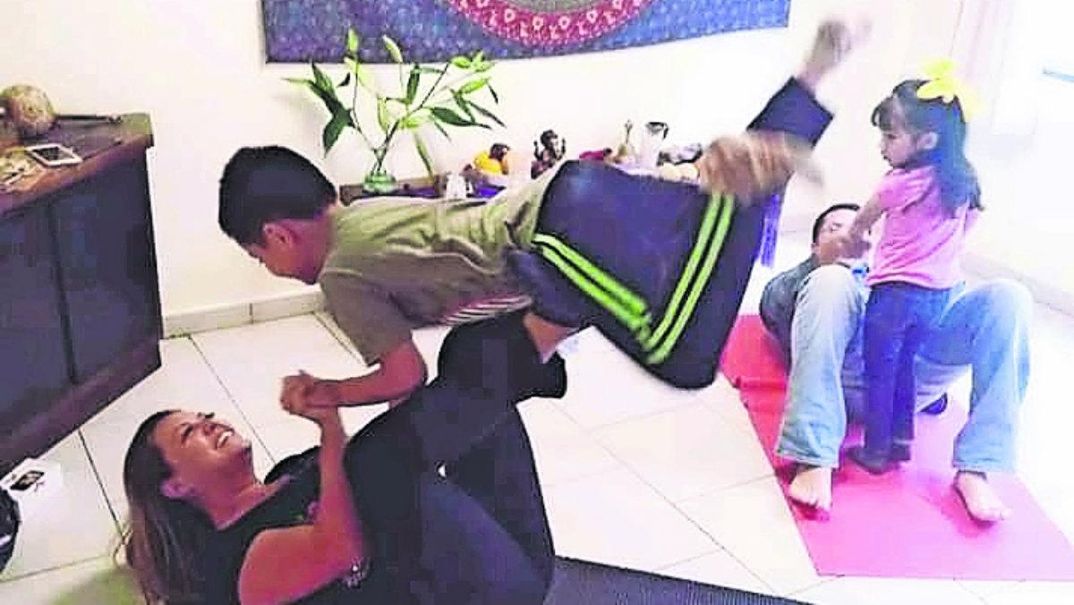 Yoga niños Toluca equilibrio
