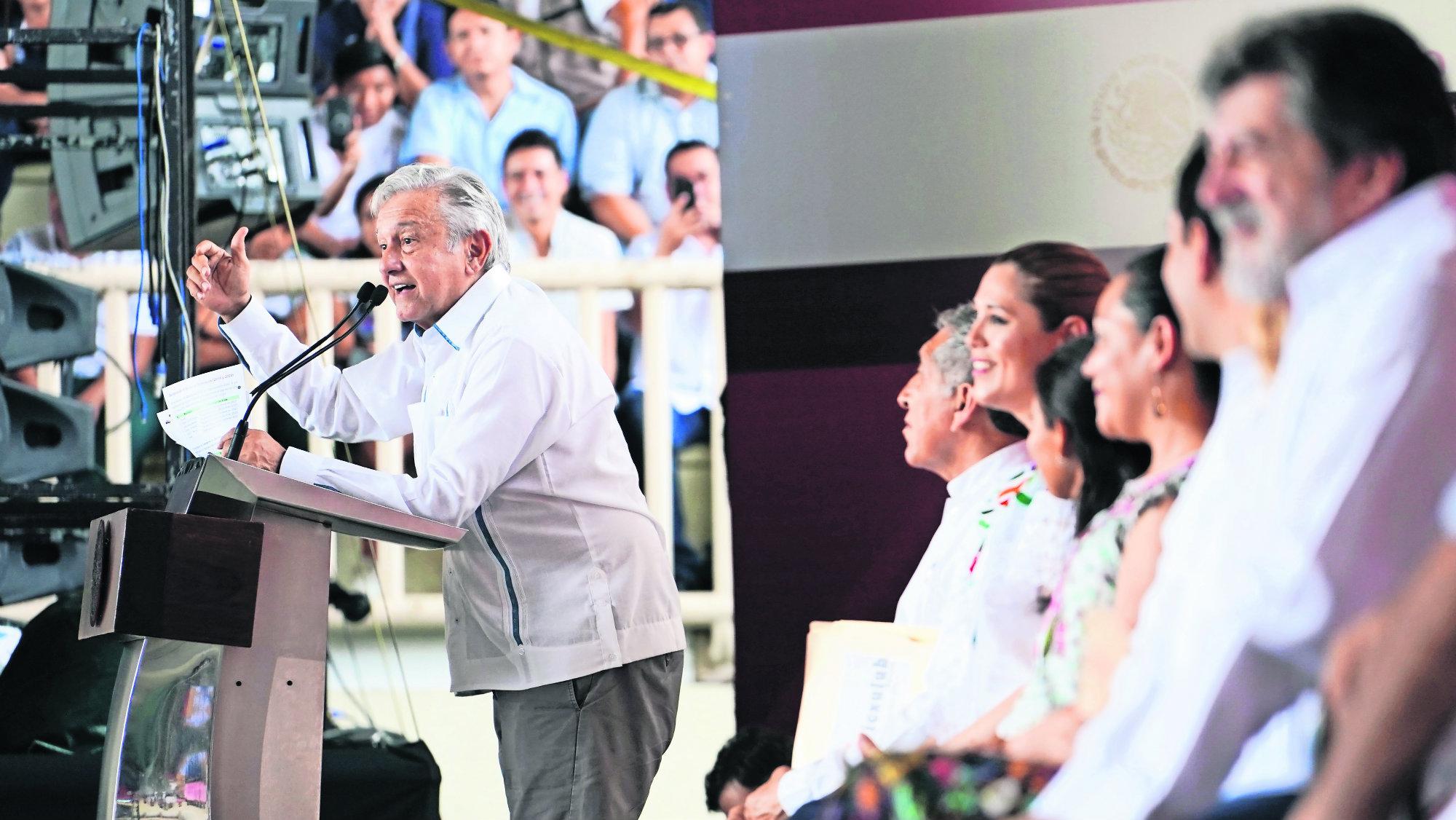 AMLO Apagones eléctricos Gas Naturla CFE Mérida Yucatán