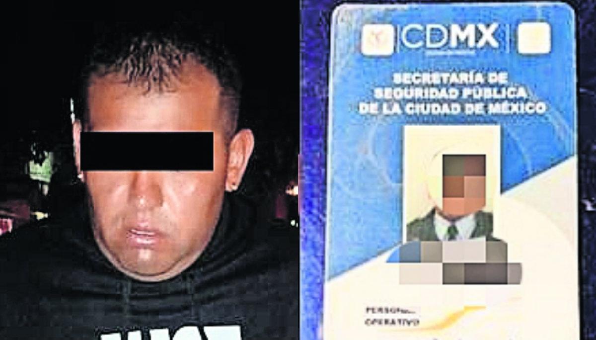 Detienen a policía Líder delictivo CDMX