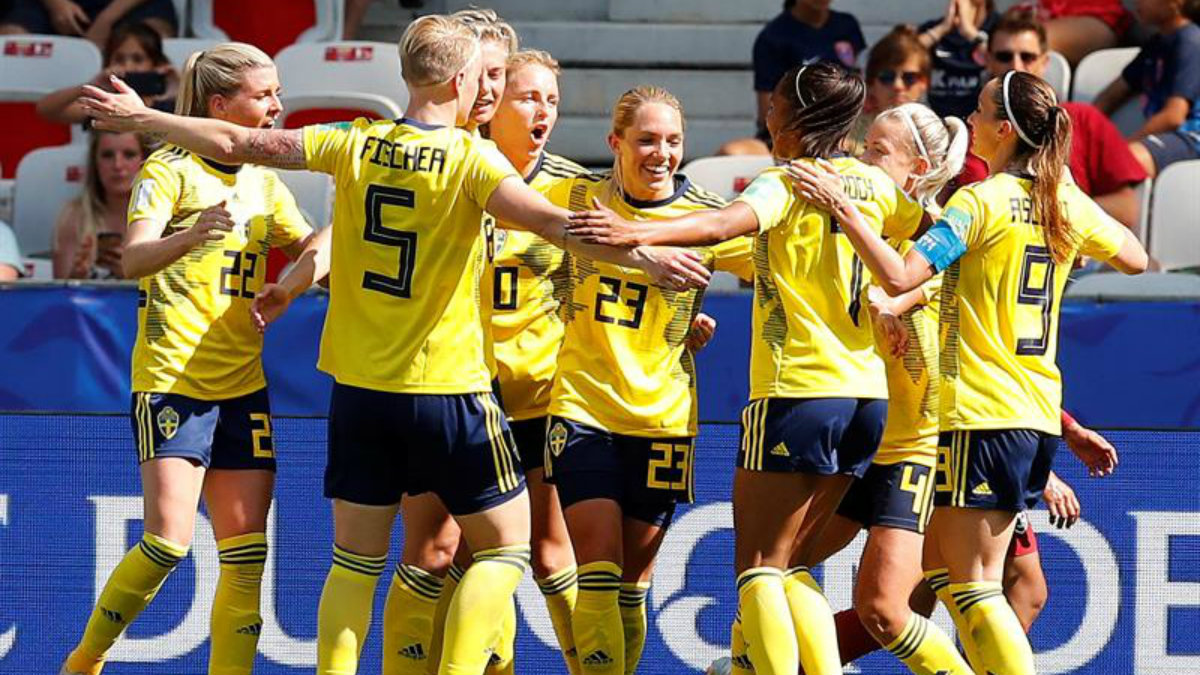Suecia Canadá enfrentarán Mundial Femenil de futbol