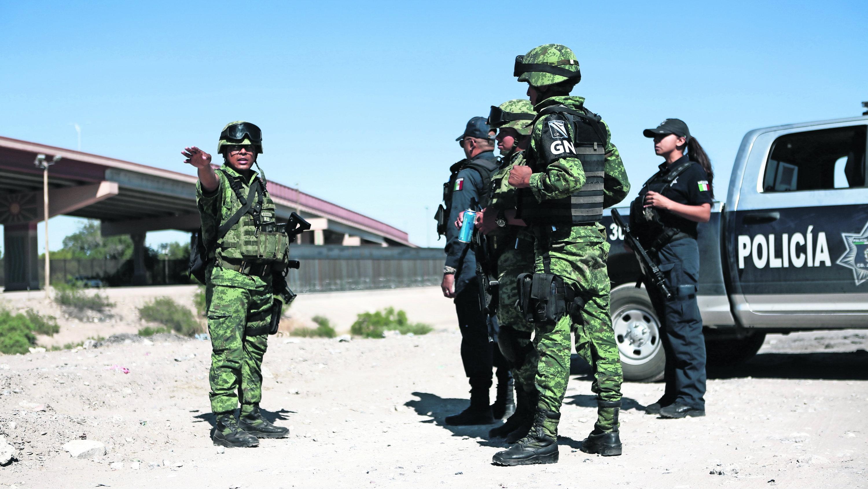 Fuerzas armadas blindan fronteras