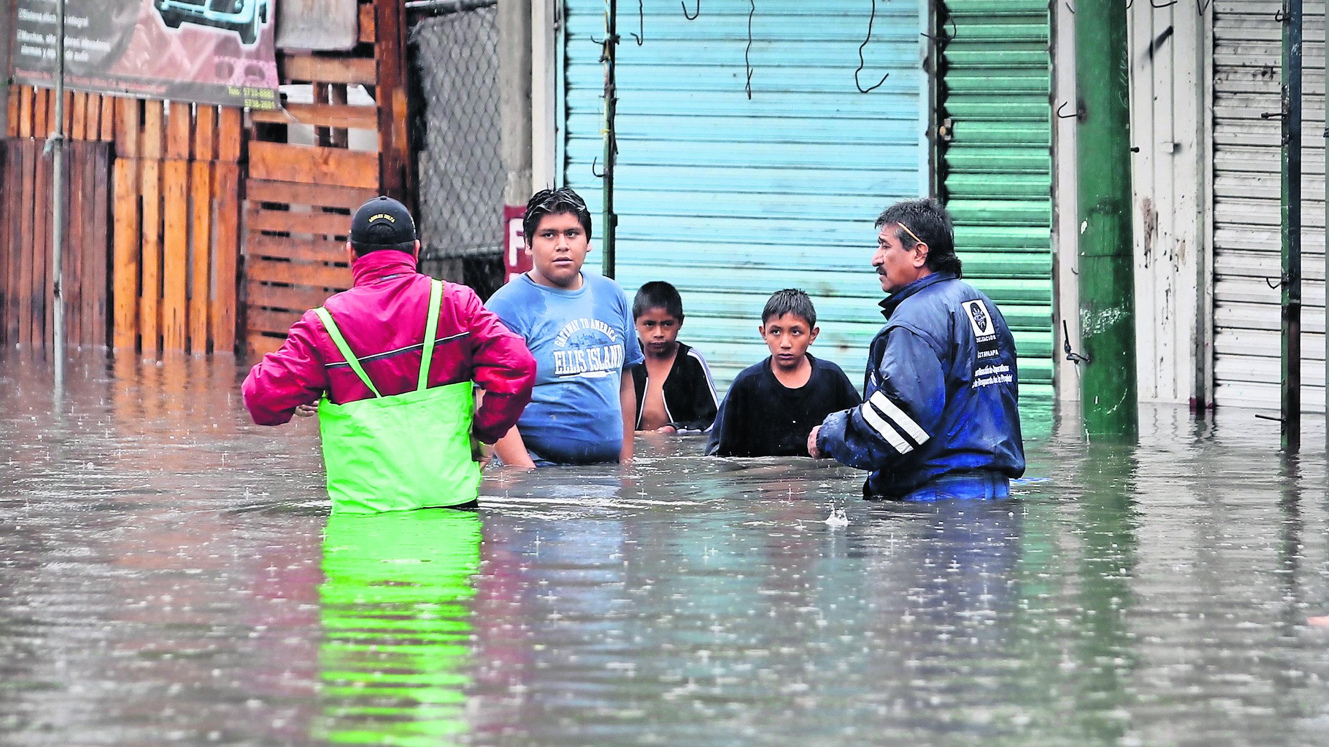 Inundaciones afectado 30 casa CDMX