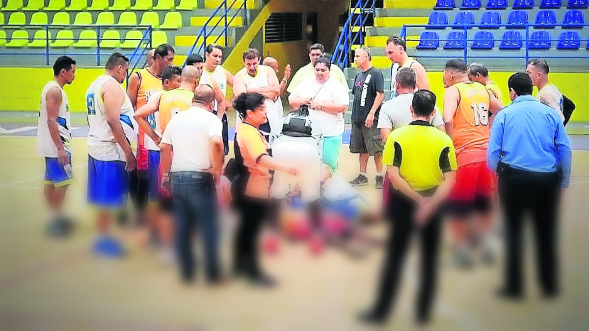 muere basquetbolista veterano elijah allen se desplomó partido duela nicaragua