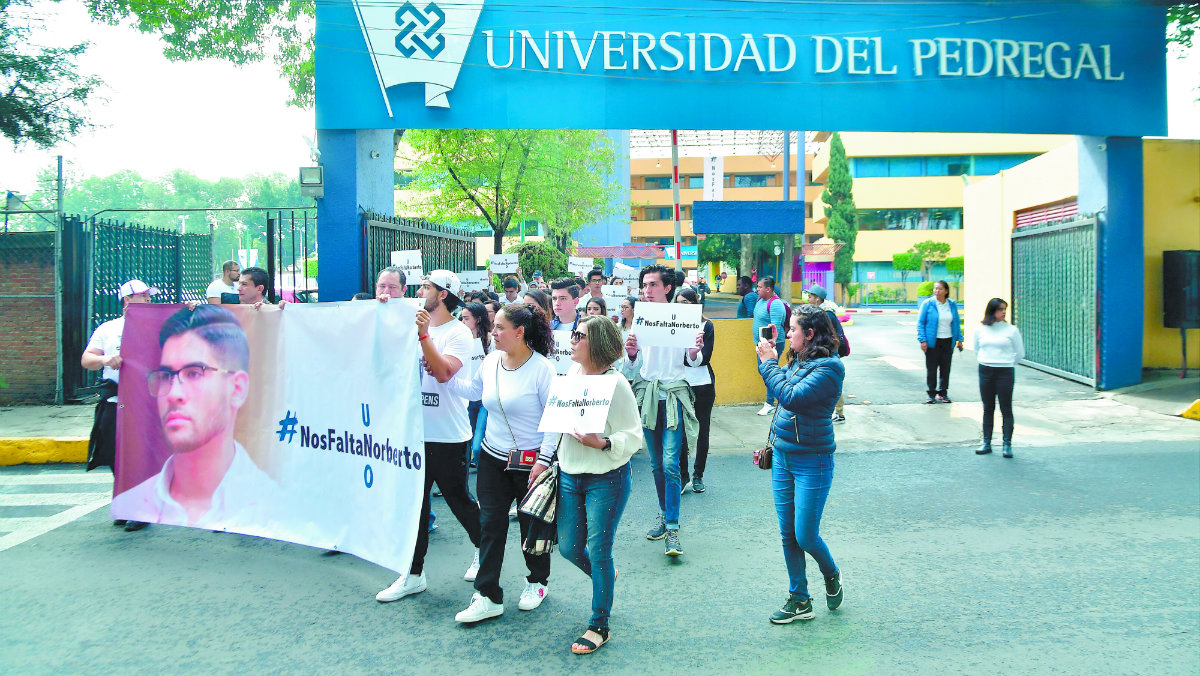 universidad pedregal inseguridad ahuyenta estudiantes foráneos matrícula asesinato Norberto Ronquillo secuestro operativos cdmx