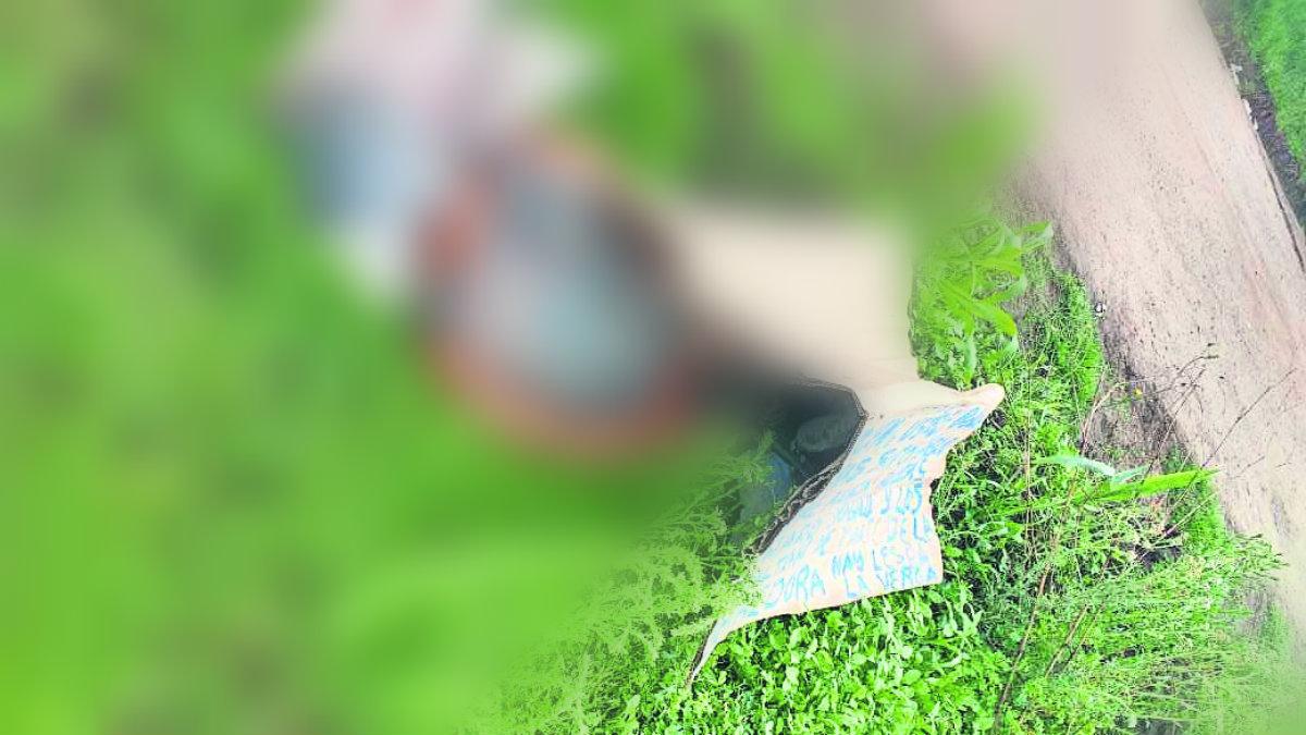 Hallan cadáver enbolsado Edomex Estado de México