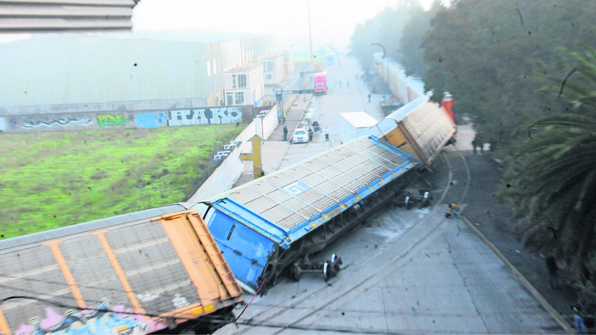 Tren volcado Evita tragedia Saldo Blanco Edomex Toluca