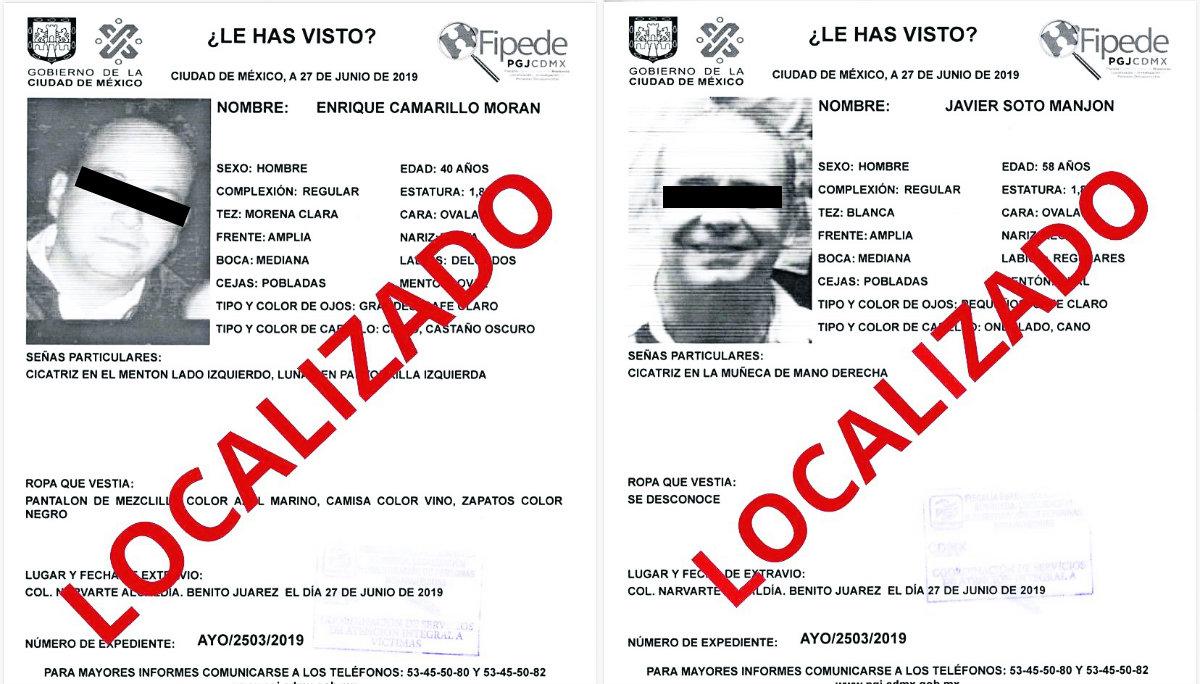 Dos hombres se salvan de las goteras en un hotel en alcaldía Benito Juárez