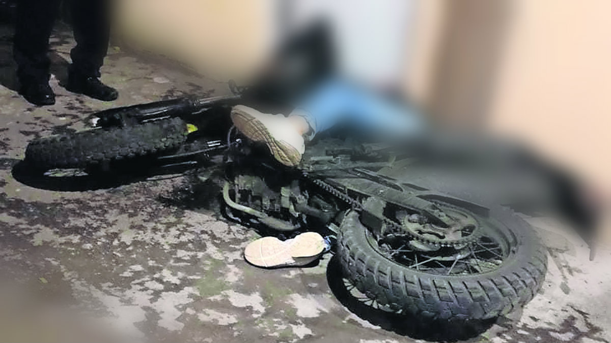 asesinan motociclista a bordo motocicleta balazo en la cabeza iztapalapa